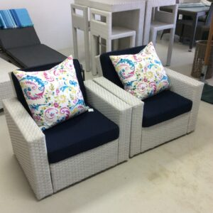 all weather designer armchair