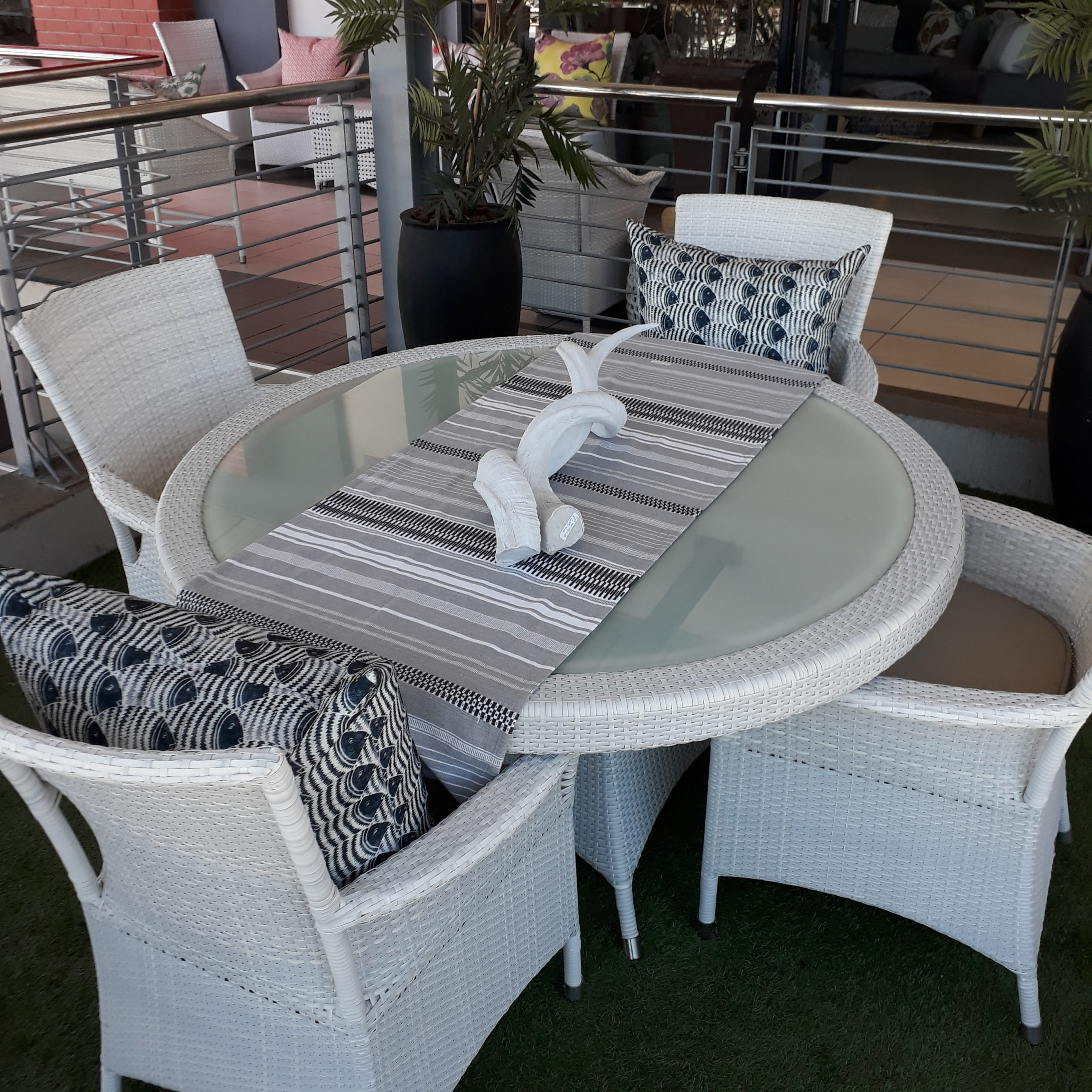 All weather outdoor Ashanti dining table