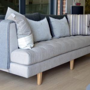 Fully upholstered