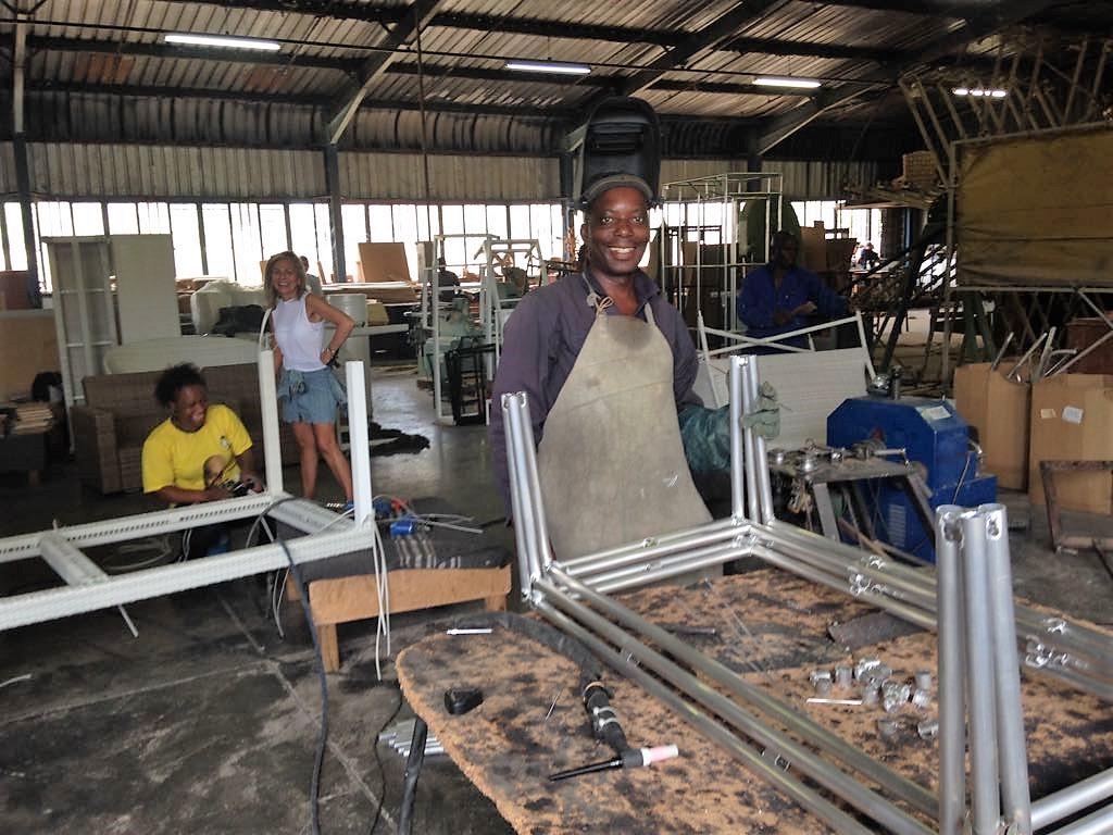 Mirage furniture factory welding