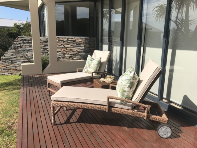 Outdoor patio loungers