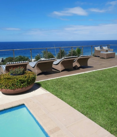 Mirage outdoor loungers